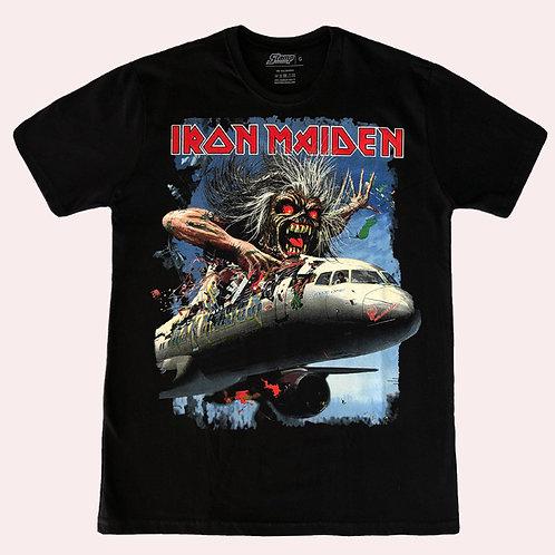 Camiseta Iron Maiden - Flight 666 - Bomber