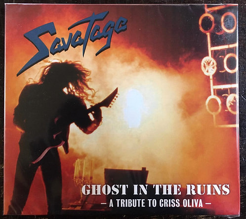 CD Savatage - Ghost In The Ruins - A Tribute To Criss Oliva - Digipack - Lacrado