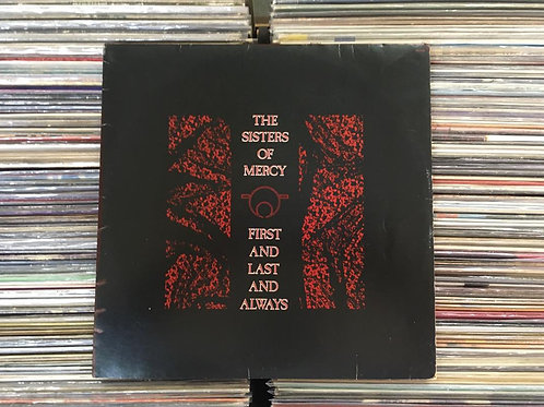 LP The Sisters Of Mercy - First And Last And Always - Com Encarte