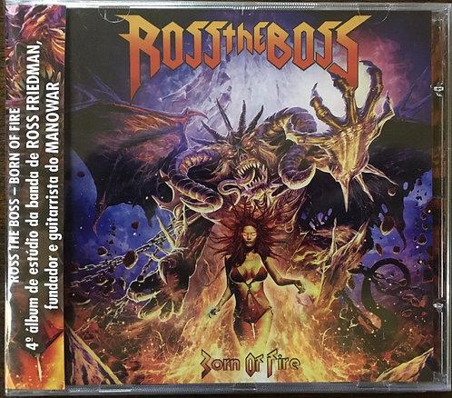 CD Ross The Boss - Born Of Fire - Lacrado