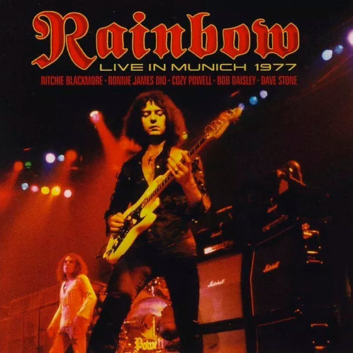 CD Rainbow - Live In Munich 1977 - Duplo - Lacrado