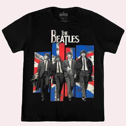 Camiseta The Beatles - BBC Sesseions - Bomber