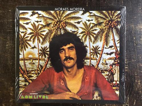 CD Moraes Moreira - Moraes Moreira 1975 - Digipack / Lacrado