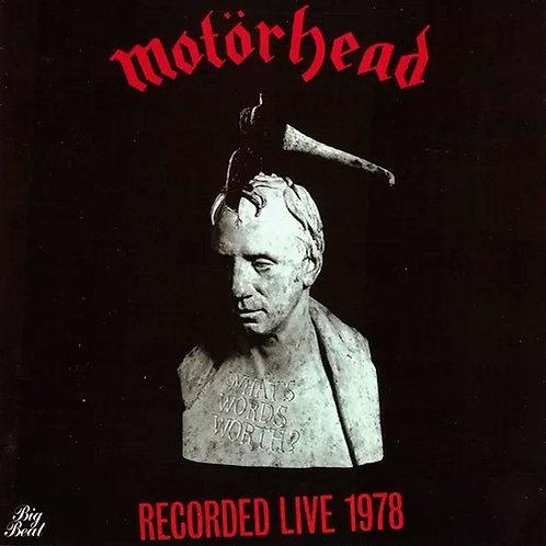 CD Motörhead - What's Wordsworth - Recorded Live 1978 - Lacrado