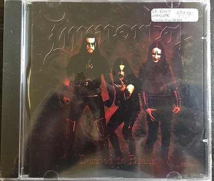 CD Immortal - Damned In Black - Importado - Lacrado