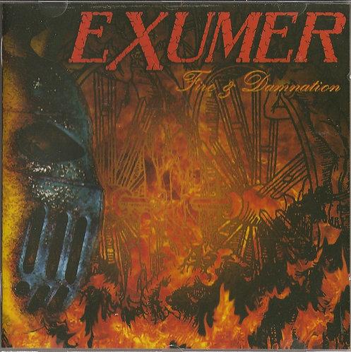 CD Exumer - Fire & Damnation - Importado - Lacrado
