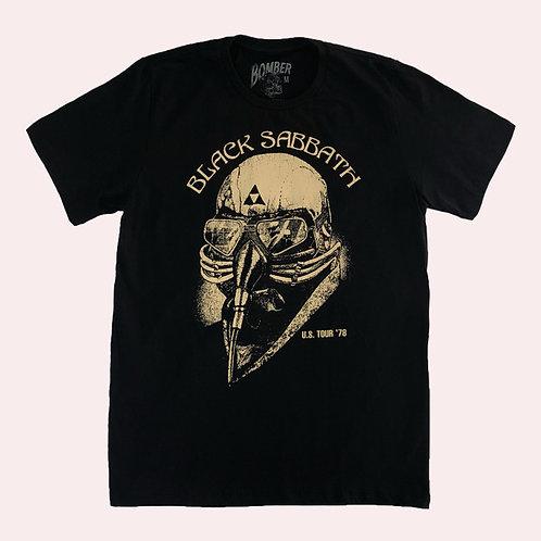 Camiseta Black Sabbath - Never Say Die - Bomber