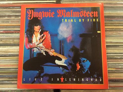 LP Yngwie Malmsteen - Trial By Fire: Live In Leningrad