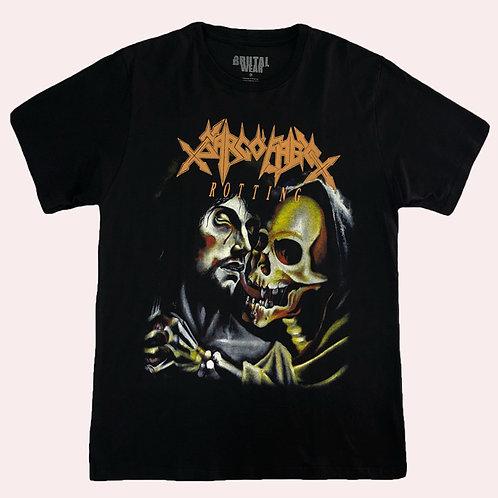 Camiseta Sarcófago - Rotting - Brutal