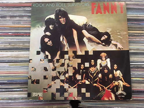 LP Fanny - Rock And Roll Survivors