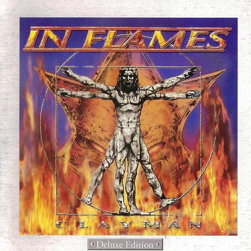CD In Flames - Clayman - Deluxe Edition - Lacrado