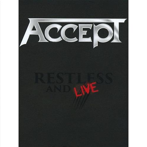 DVD + CD Duplo Accept - Restless And Live - Lacrado