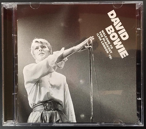 CD David Bowie - Welcome To The Blackout (live London '78) - Duplo