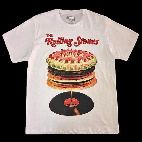 Camiseta The Rolling Stones - Let It Bleed - Branca - Brutal
