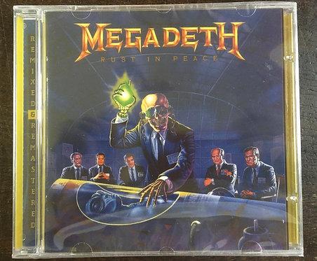 CD Megadeth - Rust In Peace - Importado - +Bônus - Lacrado