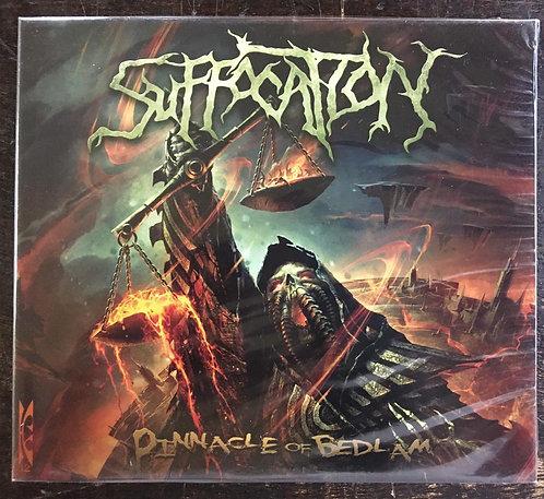 CD Suffocation - Pinnacle Of Bedlam - Slipcase - Lacrado