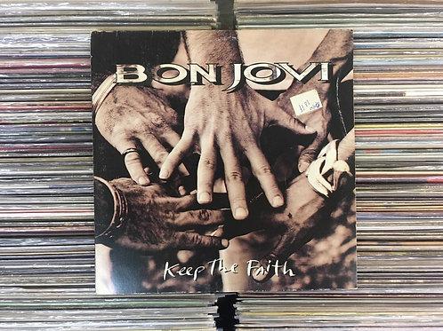 LP Bon Jovi - Keep The Faith - Com Encarte