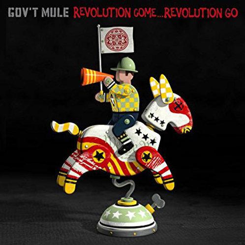 CD Gov't Mule - Revolution Come...revolution Go - Lacrado