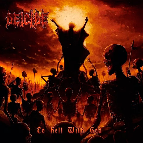 CD Deicide - To Hell With God - Lacrado