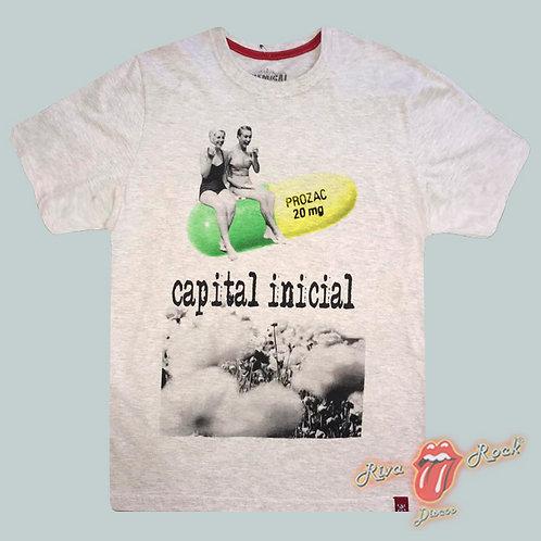 Camiseta Capital Inicial - Prozac - Chemical