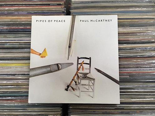 LP Paul Mccartney - Pipes Of Peace - Capa Dupla - C/ Encarte