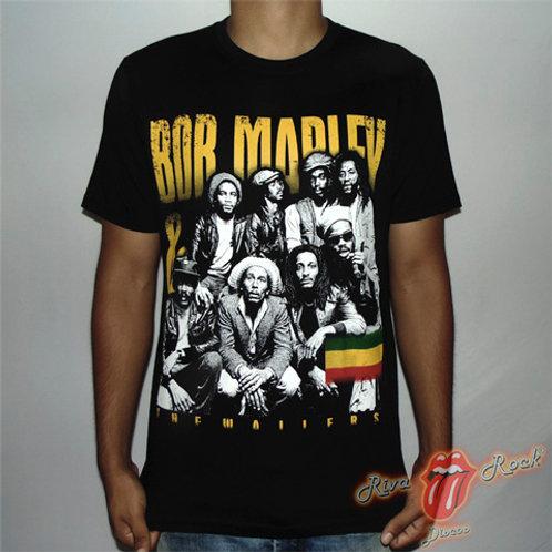 Camiseta Bob Marley & The Wailers - Banda - Chemical