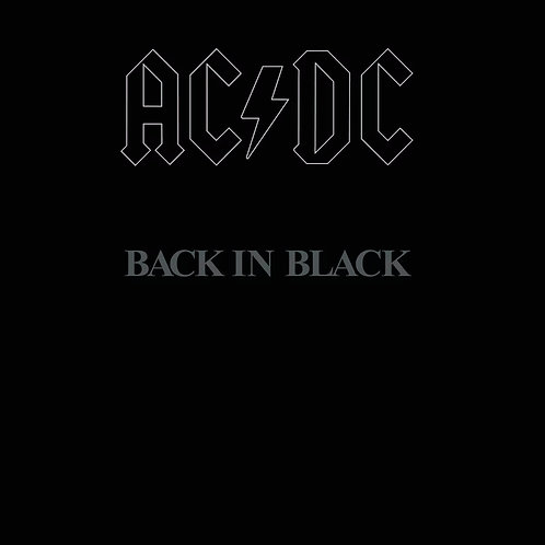 CD AC/DC - Back In Black - Lacrado - Digipack