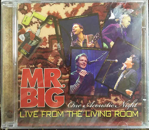 CD Mr. Big - Live From The Living Room (One Acoustic Night) - Lacrado