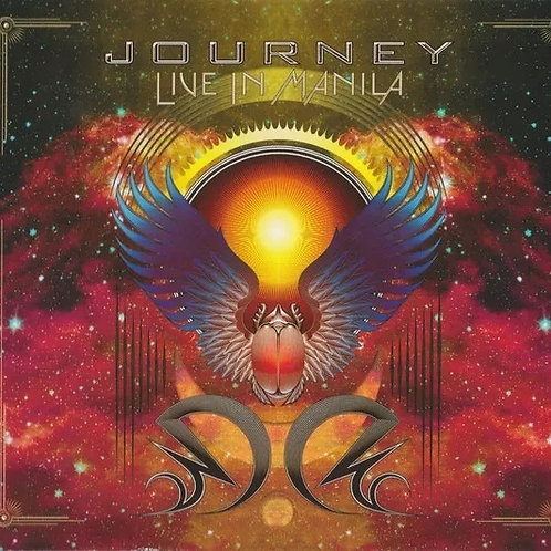 CD Journey - Live In Manila - Duplo + DVD - Lacrado