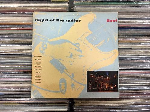 LP Night Of The Guitar Live! - Vários - (Duplo) - Capa Dupla