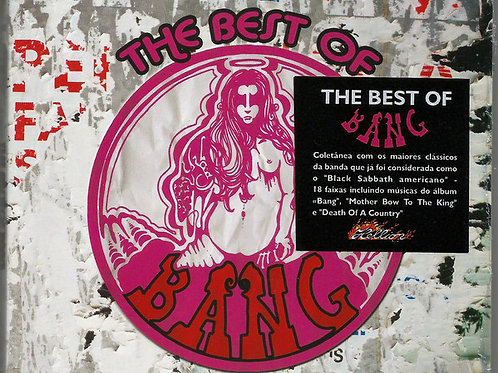CD Bang - The Best Of Bang - Digipack - Lacrado