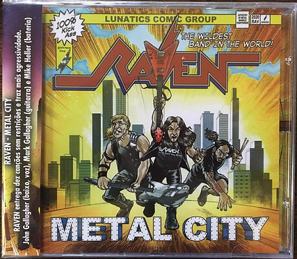 CD Raven - Metal City - Lacrado