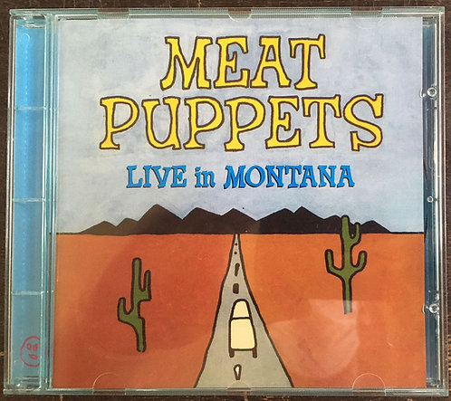 CD Meat Puppets - Live In Montana