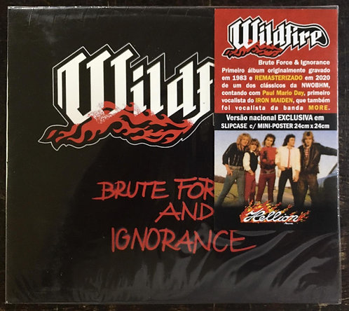 CD Wildfire - Brute Force And Ignorance - Slipcase - Lacrado
