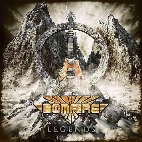 CD Bonfire - Legends - Duplo - Lacrado