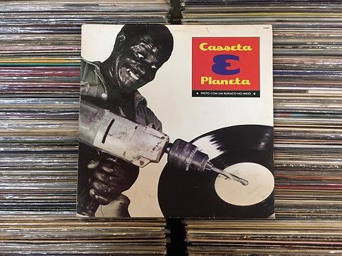 LP Casseta & Planeta - Preto Com Um Buraco No Meio