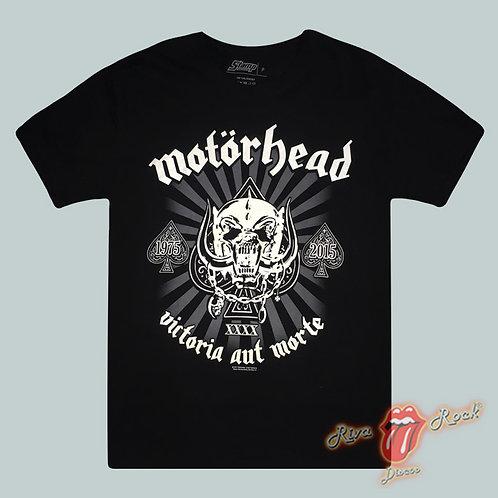 Camiseta Motörhead - Victoria Aut Morte - Stamp