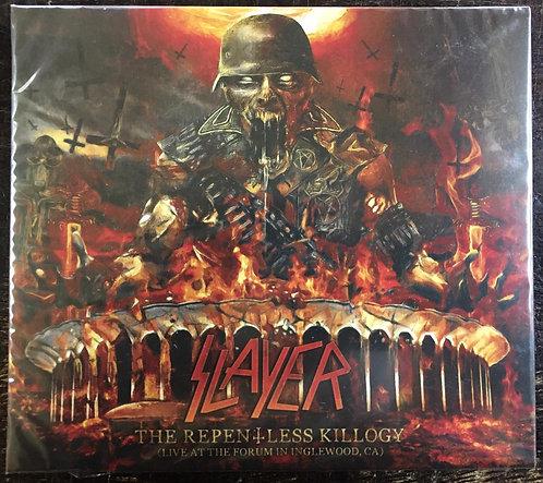 CD Slayer - The Repentless Killogy - Duplo - Digipack - Live - Lacrado