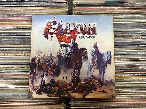 LP Saxon - Crusader - Capa Dupla