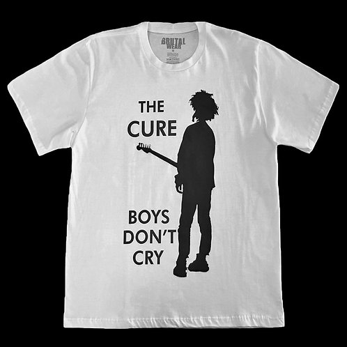 Camiseta The Cure - Boys Don't Cry - Brutal