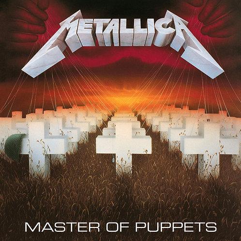 CD Metallica - Master Of Puppets - Digifile Remaster - Lacrado