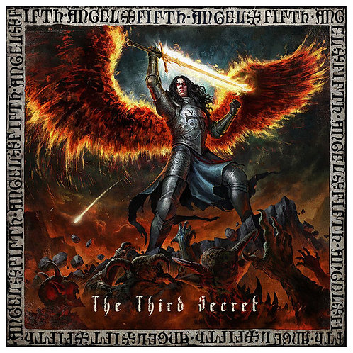 CD Fifth Angel - The Third Secret - Lacrado