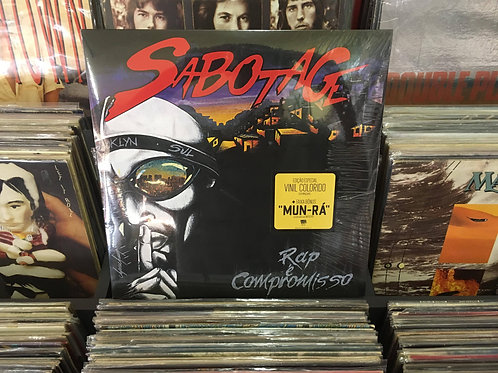 LP Sabotage - Rap É Compromisso - Duplo - Lacrado