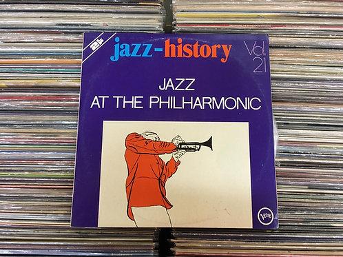 LP Jazz At The Philharmonic - Jazz History Vol. 21 - Vários Artistas Duplo