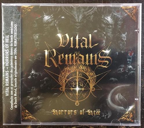 CD Vital Remains - Horrors Of Hell - Lacrado