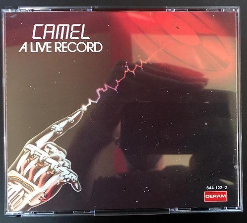 CD Box Duplo - Camel - A Live Record - Importado