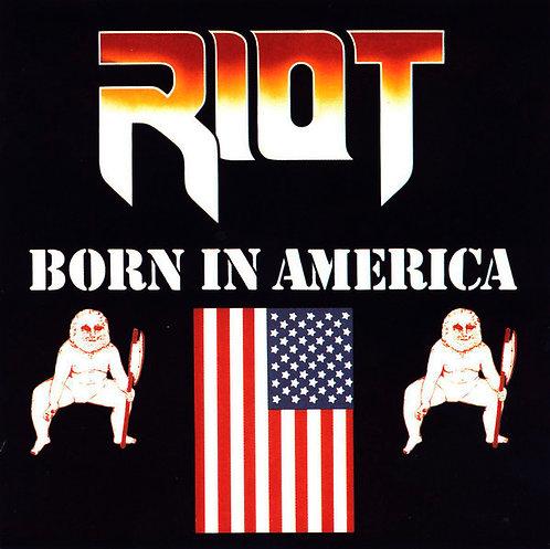 CD Riot - Born In America - Importado - Lacrado