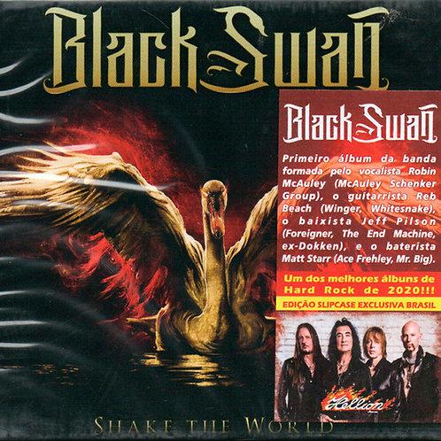 CD Black Swan - Shake The World - Slipcase - Lacrado