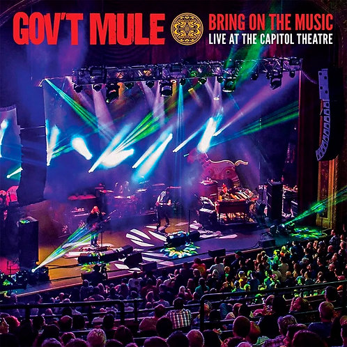 CD Box Gov't Mule - Bring On The Music... - (2 CDs +2 DVDs) - Lacrado