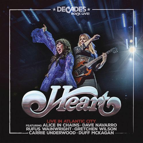 CD + DVD Heart - Live In Atlantic City - Lacrado